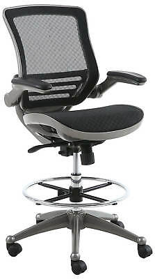 Harwick Evolve All Mesh Heavy Duty Drafting Chair In Gunmetal Finish New In Box