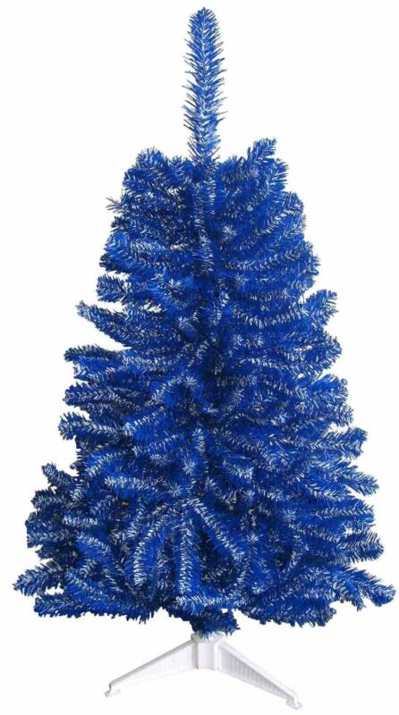 Duke Blue Devils Blue & White 2FT Christmas Tree, Team Colored Sports Tree, NCAA
