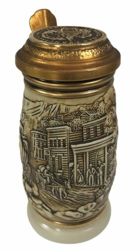 1987 Vintage Avon THE GOLD RUSH Collectible Beer Stein
