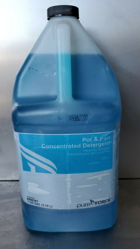 PUREFORCE ECOLAB Concentrated Pot And Pan Detergent 1 Gallon