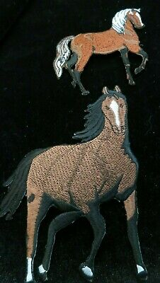 Horse - Horse Head - Western Horse - Embroidered Iron On Patches - N-21