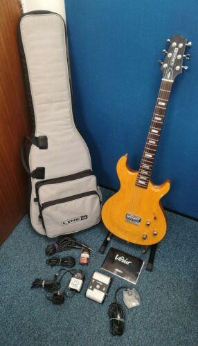 Line 6 Variax 700 Electric Guitar - Amber