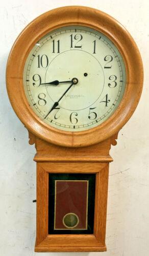 Antique E. Howard #70 Weight Driven Wall Clock