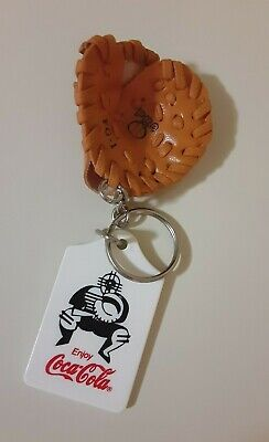 COCA COLA Baseball Glove Keychain