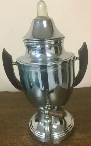 Vintage Farberware Coffee Pot, Urn, Electric Percolator, Set No. 40 Tested