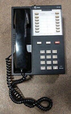 Att Lucent Avaya 8102 Single Line Black Analog Proprietary Business Desk Phone