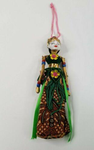 Indonesian Handmade Rama Doll with Box
