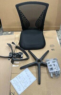Home Office Chair Ergonomic Desk Chair Mesh Computer Chair Black