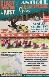 Antique Snowmobile, Atc & Motorcycle Show & Shine / Swap Meet