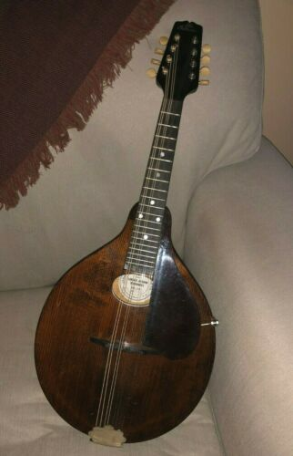Gibson A Jr Mandolin,1926, #82711 Kalamazoo Michigan, Brown, New Hard Case