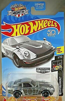 2018 Hot Wheels Walmart Exclusive #14 Zamac Nightburnerz 1/10 CUSTOM DATSUN 240Z