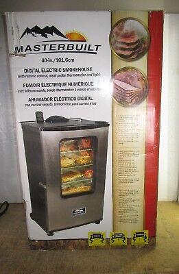 "Masterbuilt 40"" Electric Smoker with Window mod. 20070311"