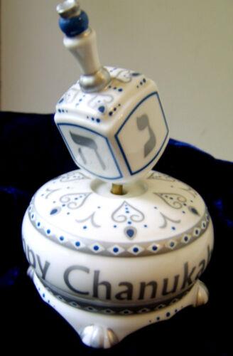Avon Exclusive Design,Music Box Happy Chanukah Spinning THE DREIDEL SONG