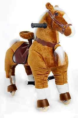 Galoppo® S - Spielzeug-Pferd zum Reiten für Kinder in braun