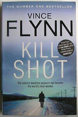 KILL SHOT NOVEL BOOK PAPERBACK by VINCE FLYNN The No. 1 (Vince Flynn Best Sellers)