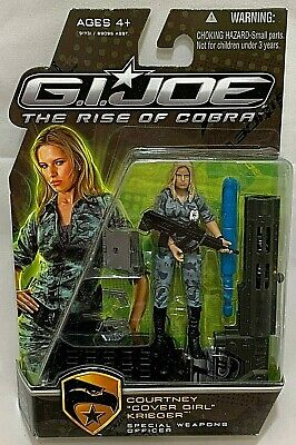 Gi Joe Cobra Girl (MISP Hasbro GI JOE Rise Cobra COURTNEY COVER GIRL KRIEGER Officer Action)