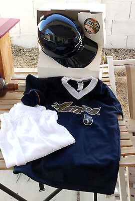 Houston ASTROS M 7-10 Jersey Helmet Ball Pants Uniform Costume