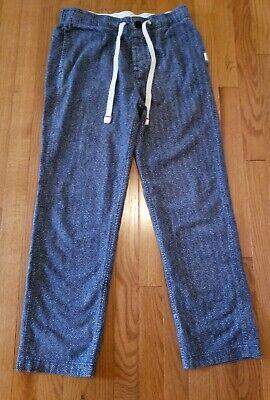 Abercrombie & Fitch Men's Lounge Pants Navyblue  Sz S