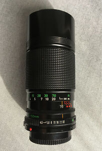 Canon Zoom Lens FD 70-150mm f4.5