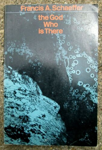 1977 The God Who Is There By Francis A. Schaeffer Christian Paperback Book