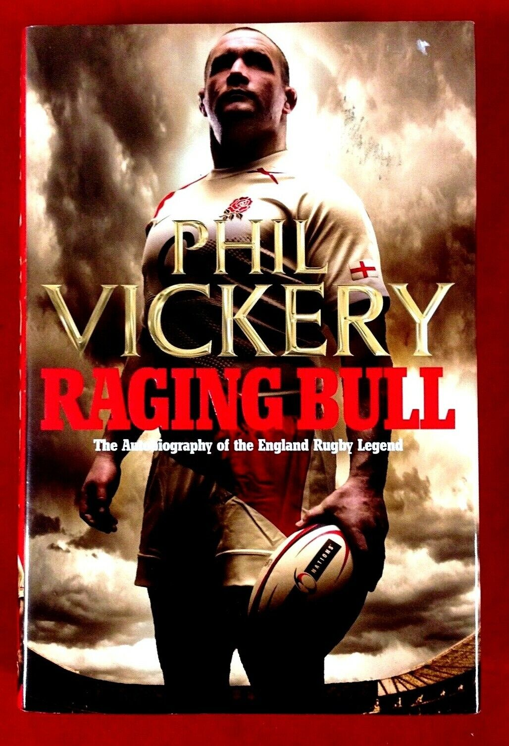 89a19daa5899e4 Raging Bull: My Autobiography by Phil Vickery (Hardback, 1st Ed, Signed,  2010)
