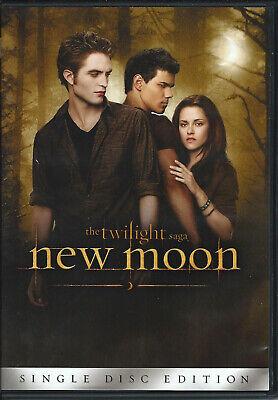 Twilight New Moon DVD Halloween Vampire Movie Kristen Stewart Robert Pattinson - Kristen Stewart Robert Pattinson Halloween