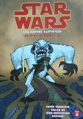 Star Wars Clone Wars Adventures Vol 8. Mint Condition. Graphic Novel/Pocket Book