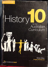 Cambridge History 10 for the Australian Curriculum Point Cook Wyndham Area Preview