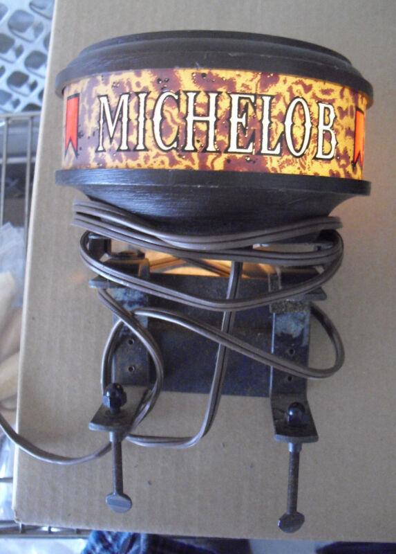 Vintage 1970s Plastic Michelob Bar Light Works Great LOOK