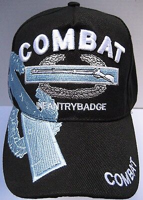 U.S. ARMY COMBAT INFANTRY VETERAN Cap Hat New U.S. Military Free Shipping