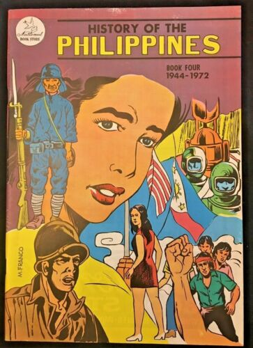 History of Philippines Book Four 1944-1972 AD FILIPINO Comic VF- (7.5) 1975