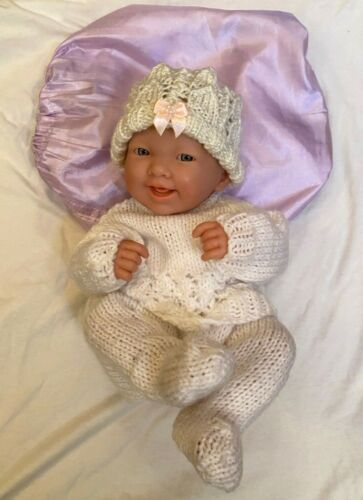 """Adorable Life like Vintage BERENGUER 14"""" New Born Baby Doll 02-10"""