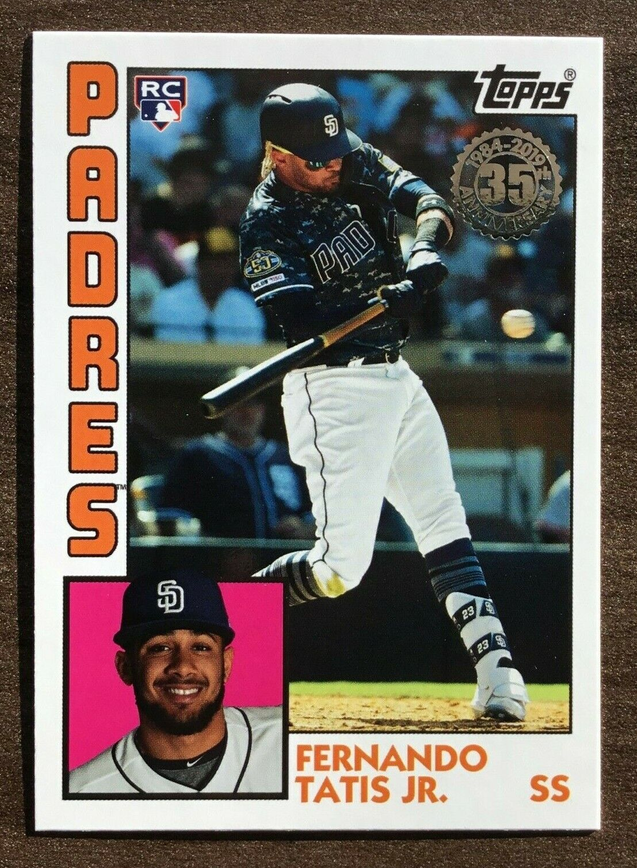 2019 Topps Update 1984 Topps #84-12 Ted Williams Baseball Card