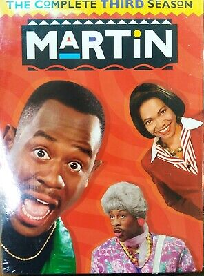 Martin ~ Complete Third Season 4-disc DVD  Set Martin Lawrence S3 SEALED fr/shp