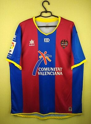 Levante jersey shirt 2011/2012 Home official luanvi soccer football size XXL image