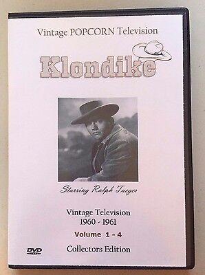 Klondike Tv Show   All 16 Shows   Bonus Serial  Ralph Taeger James Coburn Sealed