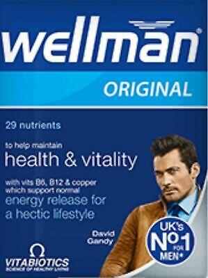 NEW Vitabiotics Wellman Original Multi Vitamin Minerals for Men 30's **Multi-Buy