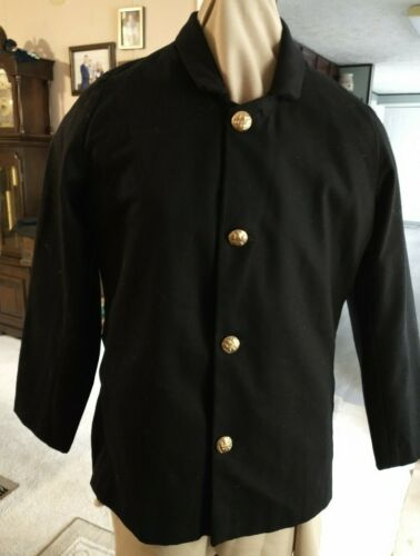 Union Deep Blue/black Sack coat with Eagle buttons, reenactors, costumes