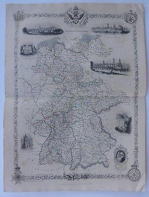 'Germany', Engraved Map, J. Rapkin, c.1850s