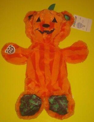 Build-A-Bear BEAR O LANTERN HALLOWEEN Pumpkin Plush Jack-o-lantern 2016 edition (Bear Halloween Pumpkin)