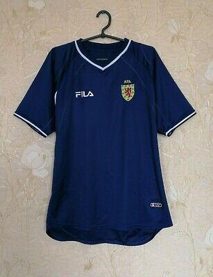 Scotland national team 2000 - 2002 home football shirt jersey Fila image