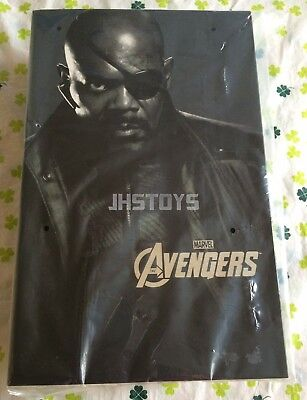 New Hot Toys 1/6 The Avengers Nick Fury MMS169 Japan