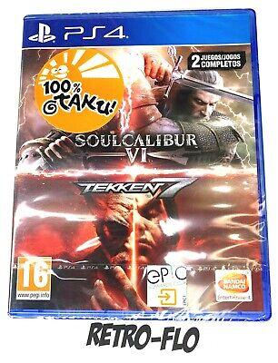 Tekken 7 + Soulcalibur 6 - Jeu Playstation PS4 - NEUF -...