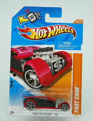 Hot Wheels Track Stars '12 Fast Cash New Free Shipping
