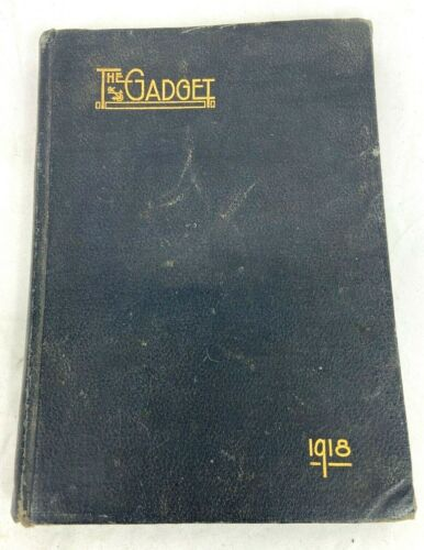 "1918 US Naval Training Camp ""The Gadget"" Gulfport Mississippi Yearbook"