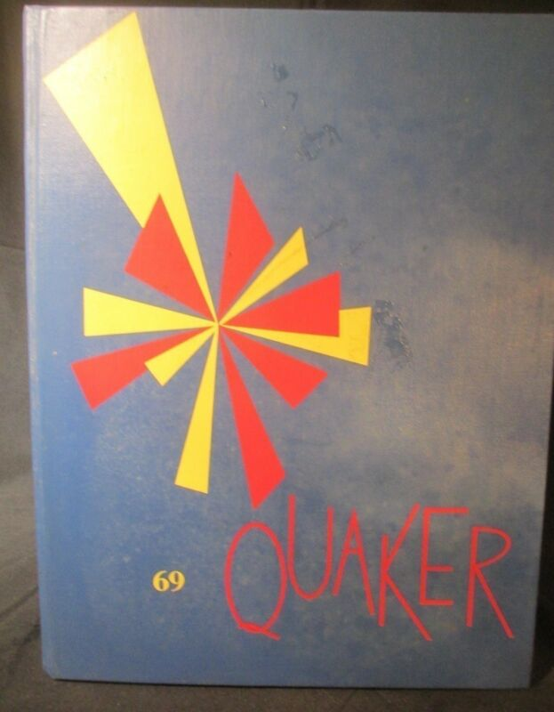 1969 Quaker Guilford College Yearbook, Greensboro, North Carolina