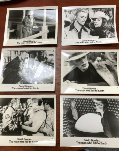 Set 6 original David Bowie original Man Who Fell to Earth Movie Photo stills