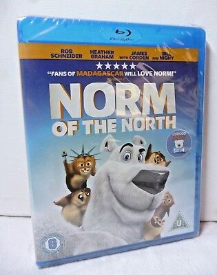 Blu-ray Norm of the North New Sealed children's Film Animation ](Anime North Halloween)