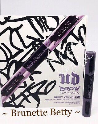 Brunette Brow Color - Urban Decay BROW ENDOWED Brow Primer + Color 0.03fl oz BRUNETTE BETTY Warm Brown