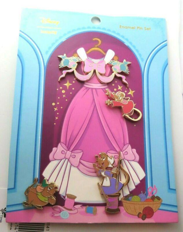 Disney Pin - Loungefly - Cinderella 70th Anniversary Set #138908